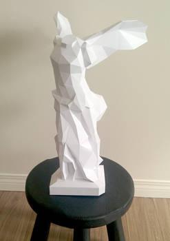 Nike of Samothrace / The Winged Victory Papercraft