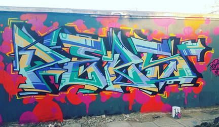 Pers.Graffiti Moganshan Road, Shanghai 2016.12.16