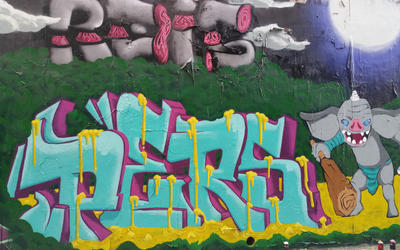Pers.Graffiti Moganshan Road, 2017.04.22 by PersGraffiti