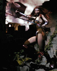 Warrior Soul by vaia