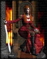 Queen of Swords by vaia