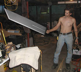 buster sword v1 by vaia
