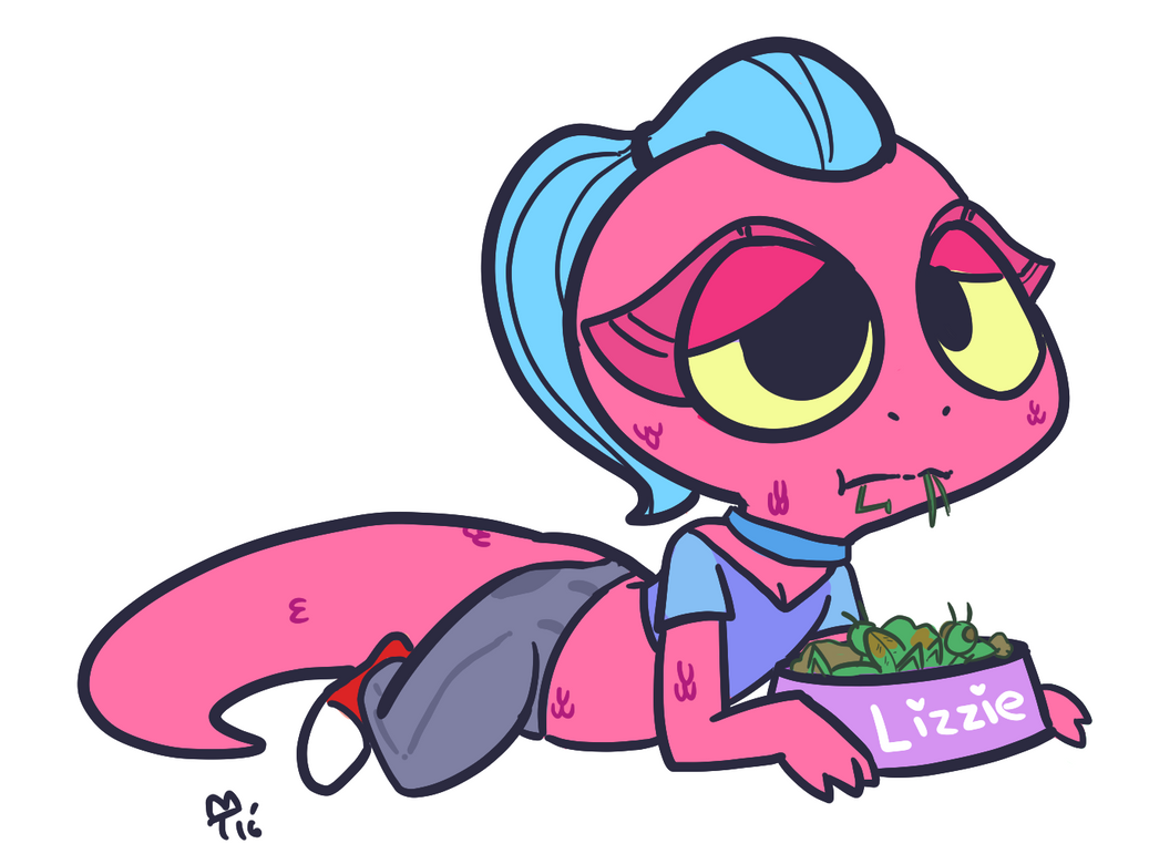 Blushing grasshoppers by Mini-Tea