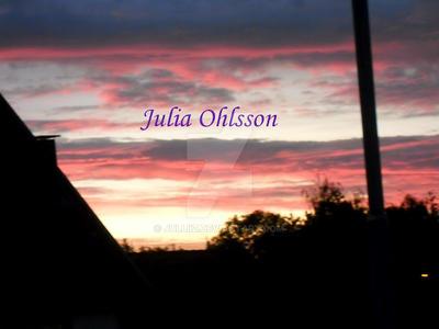Summer evening by Julliiz