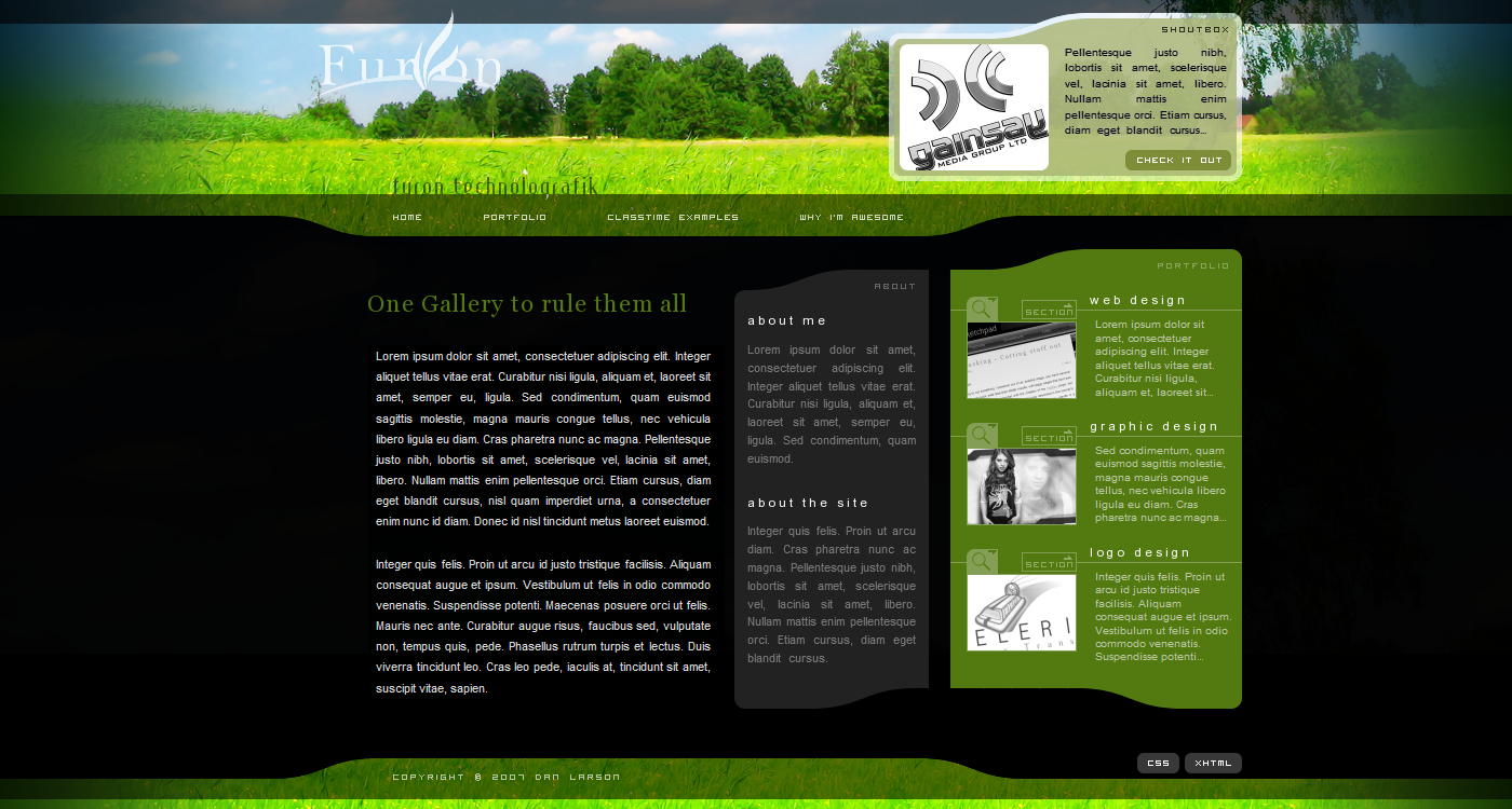 Furon Technolografik design by TebgDoran