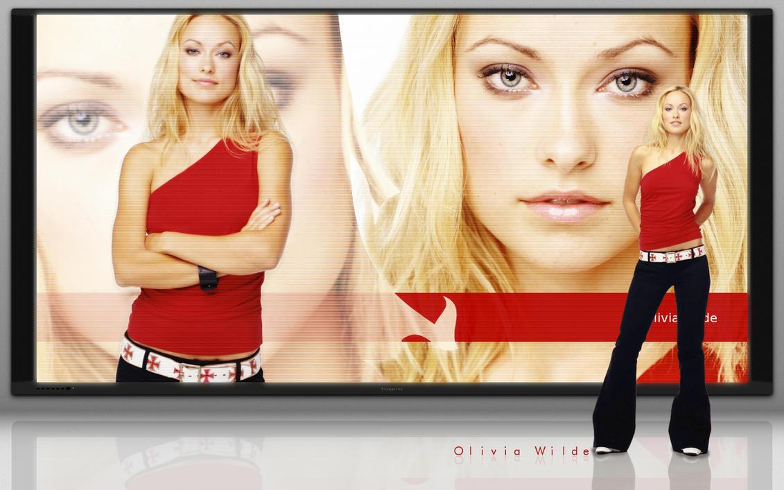 WP - Olivia Wilde :Exaggerox: by TebgDoran