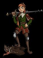 Boar Hunter by Blondbraid