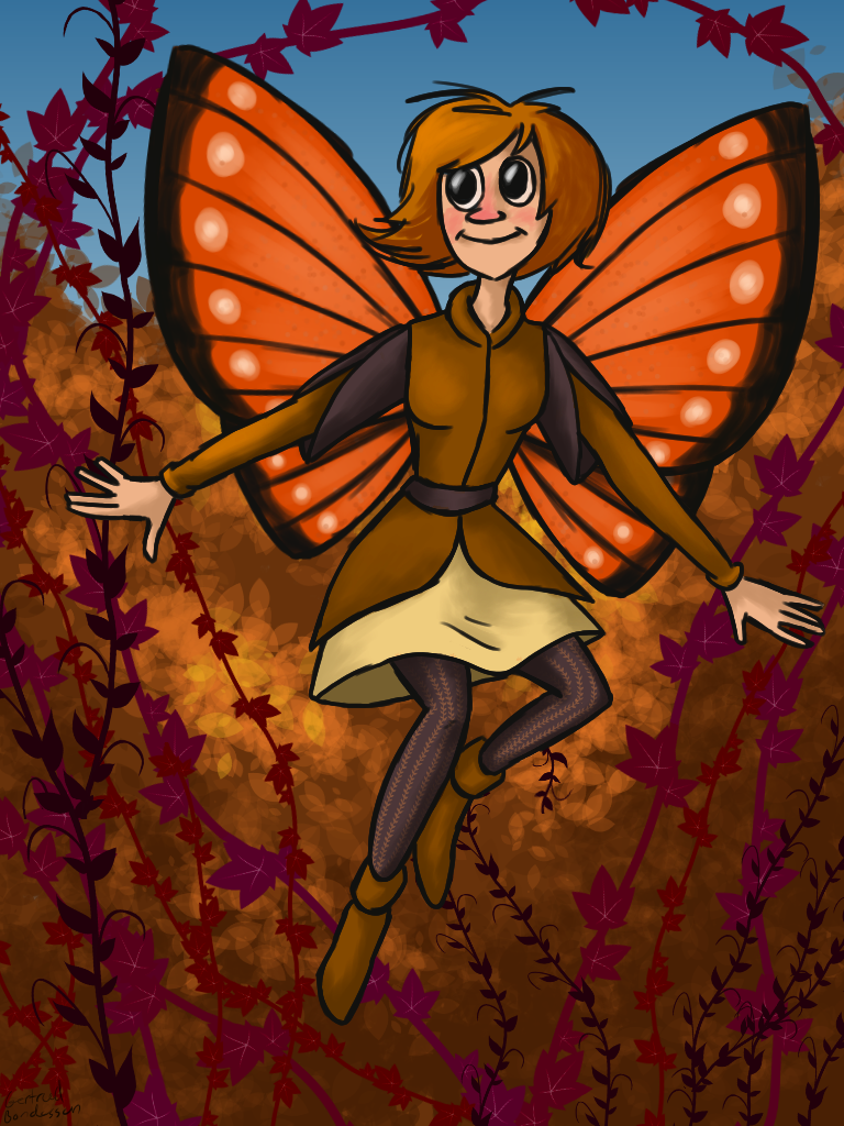 Autumn Fairy by Blondbraid