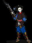 Onna Bugeisha With Musket