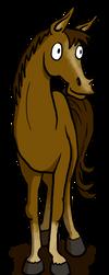 Horse by Blondbraid