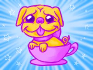 Silly Pug by Blondbraid