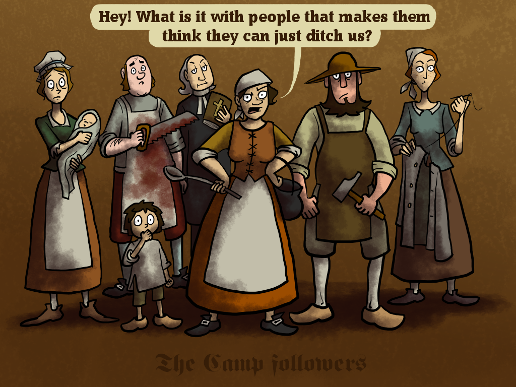 The Camp followers by Blondbraid