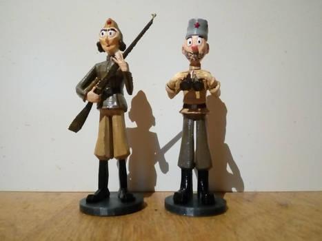 Sniper and Spotter model
