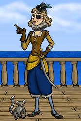 Pirate princess dressup game