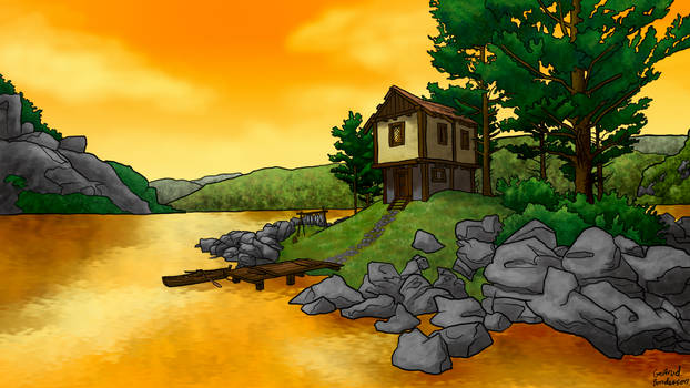 House By Water
