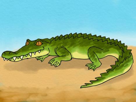 A Crocodile in 2021