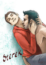 Sterek Feels by Kerozzart