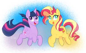 Ponies by Ch-Chau