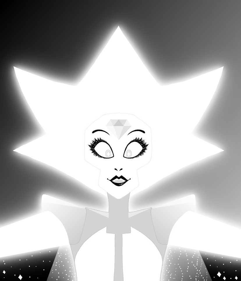 """Hello starlight"" I love this lightbulb mommy -White diamond from Steven Universe-"
