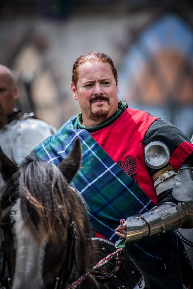 Knight on Horseback by Moonfyire101