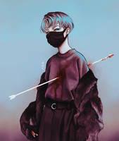 chronic pain by Kaosic-Art