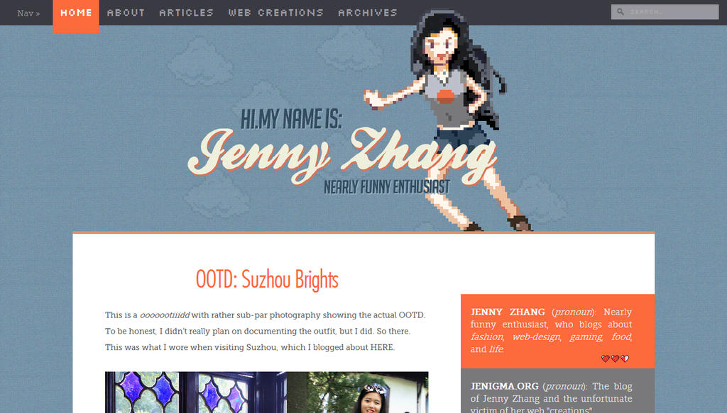 WordPress Theme: Retro gaming and pixel-art by thejenigma on