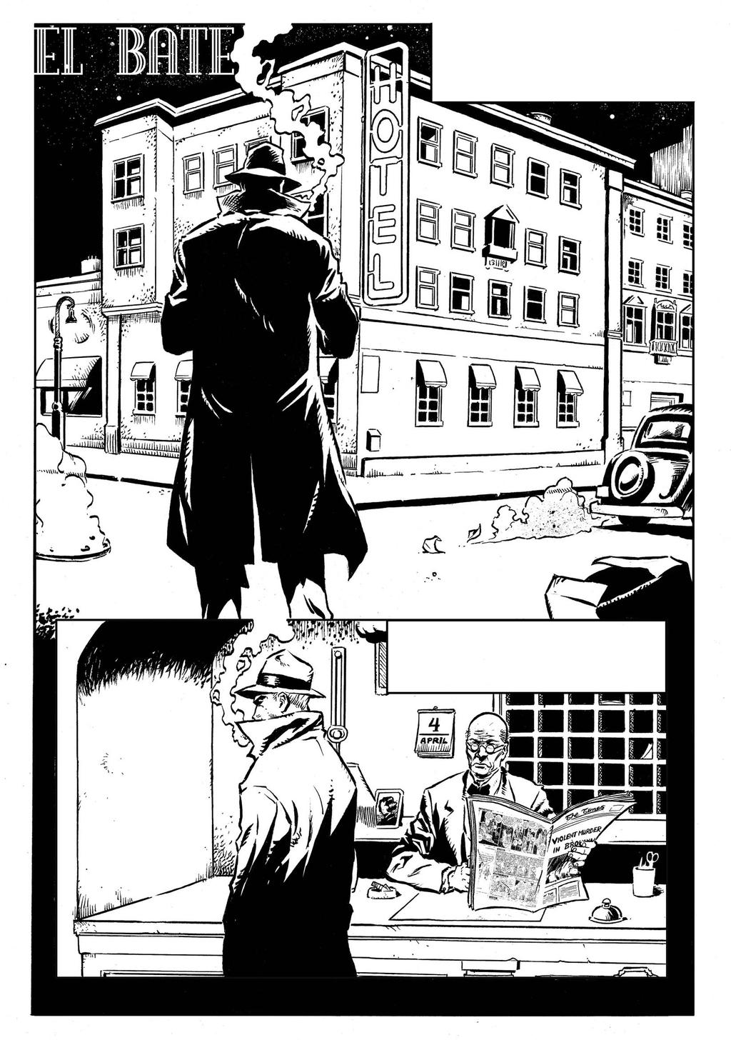 EL BATE PAGE 01 by SERGIOTARQUINI