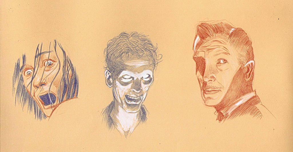 TERROR FACES by SERGIOTARQUINI