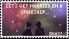 + spaceship (stamp) + by kuu-jou