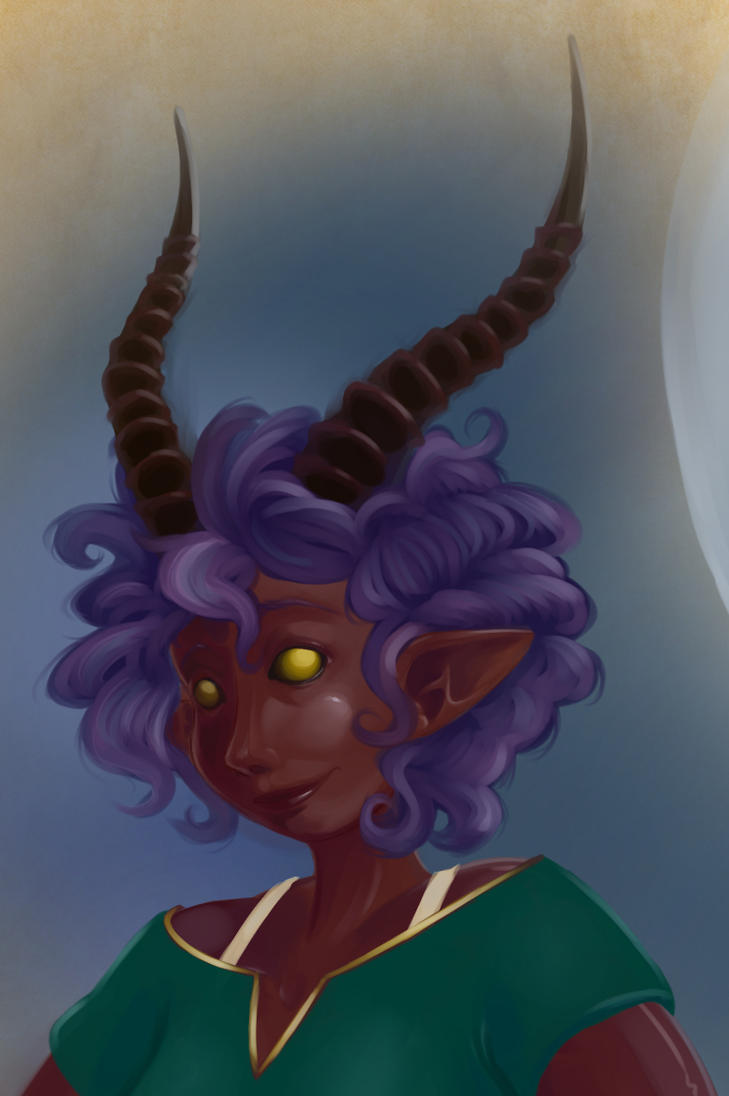 Lilhala (Detail) by SeptemberSignal