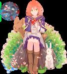 Render Shirayuki #2 - Snow White and Red hair