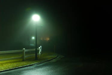 the corner lightpost
