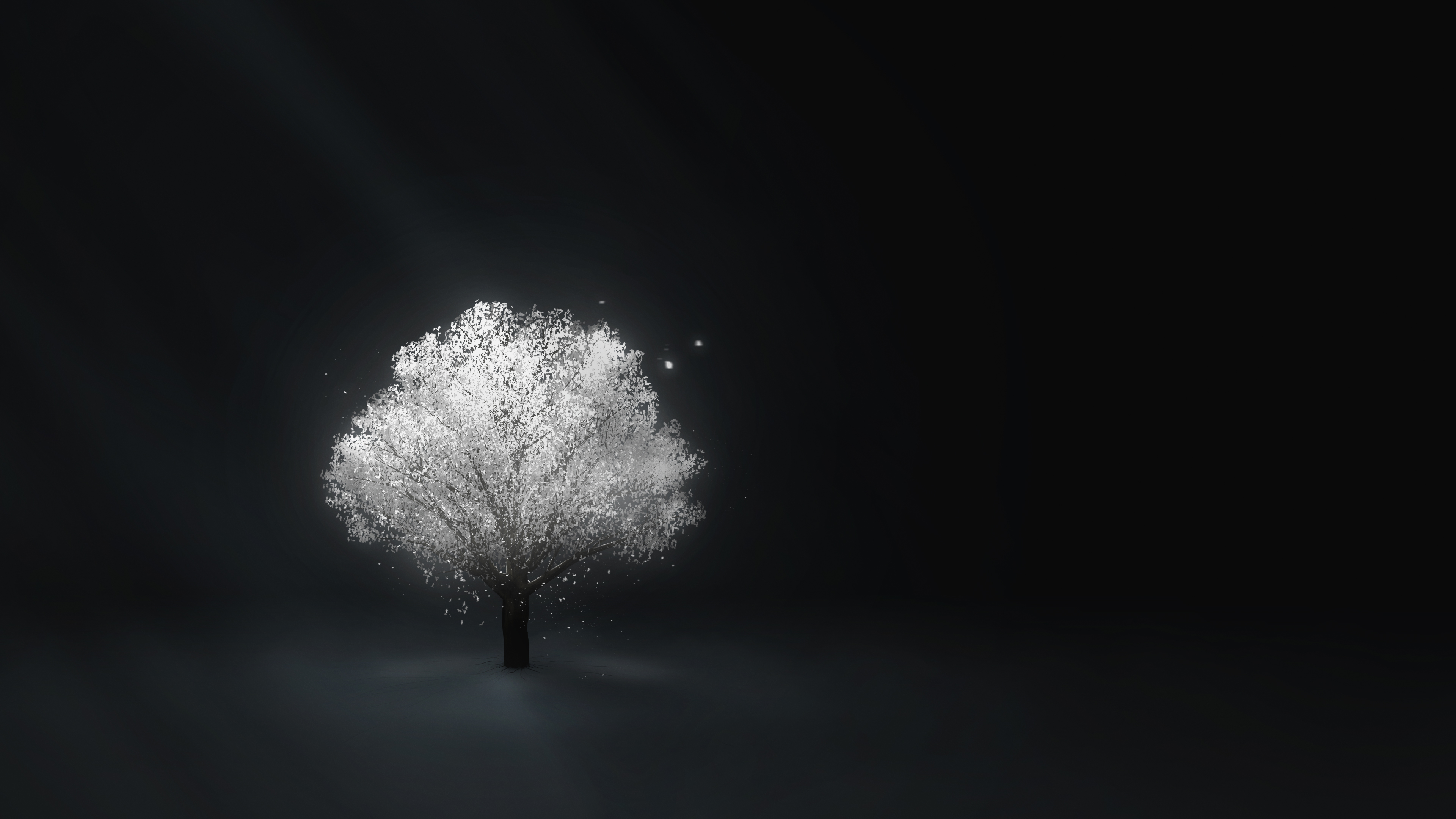 The tree that glow in the darkest place
