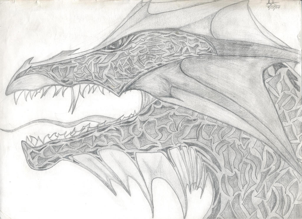Dragon #1/4 by beastvamp