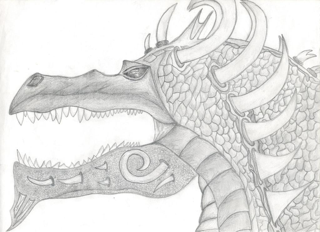 Dragon #3/4 by beastvamp