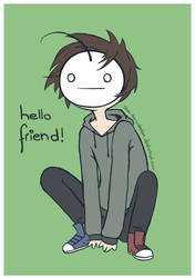 Cry: Hello Friend! by LiSArtz