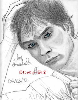 Ian Somerhalder... Blue eyes