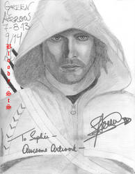 Green Arrow *SIGNED* by Bloody-sts
