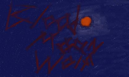 Blood Moon Wolf Logo by Ben-Buttcake