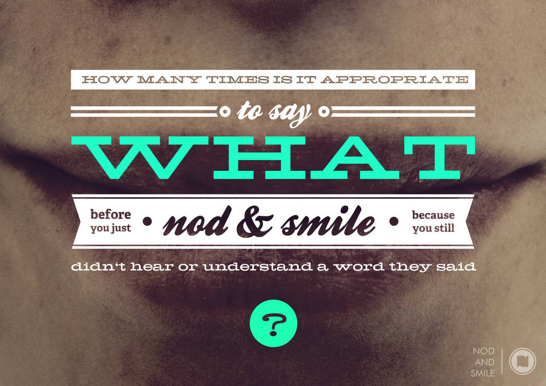 nod and smile by Play4ce