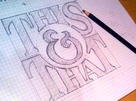 Handlettering: This and That