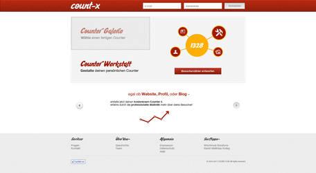 Website: count-x.de by Play4ce
