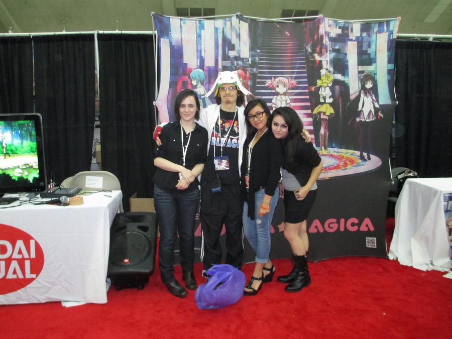 OTAKON 2012: With the Madoka Magica Cast by JohgonNefarious