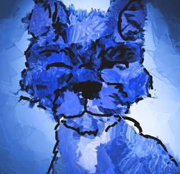 blue terrier