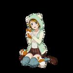 [#Render] Pana hamster