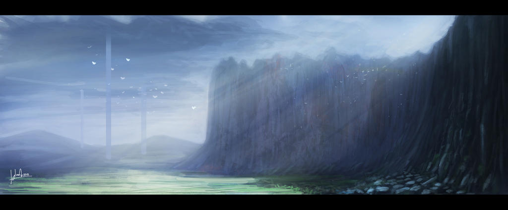 Fantasy landscape by juananibalcanto