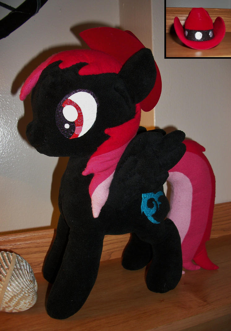 Shadow Rush Plush by WolfSpirit07