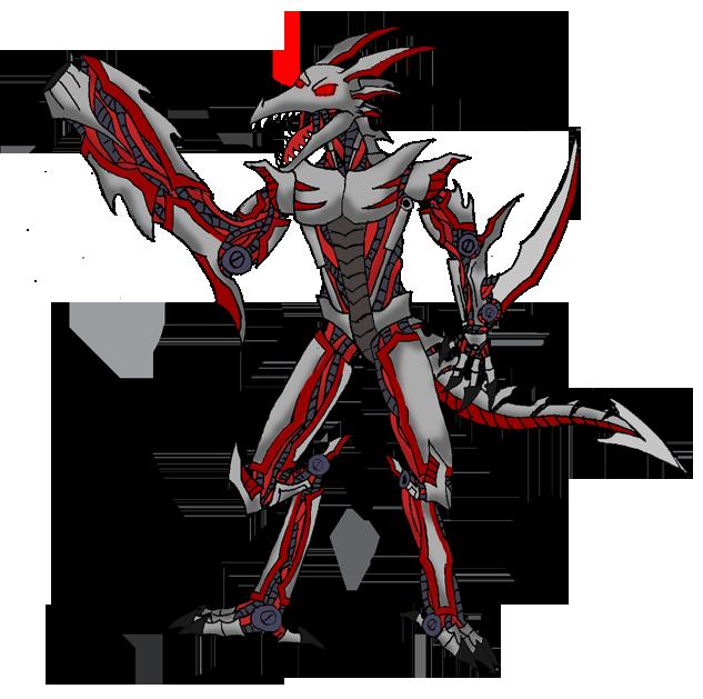 bio cyber dragon by DarkBX