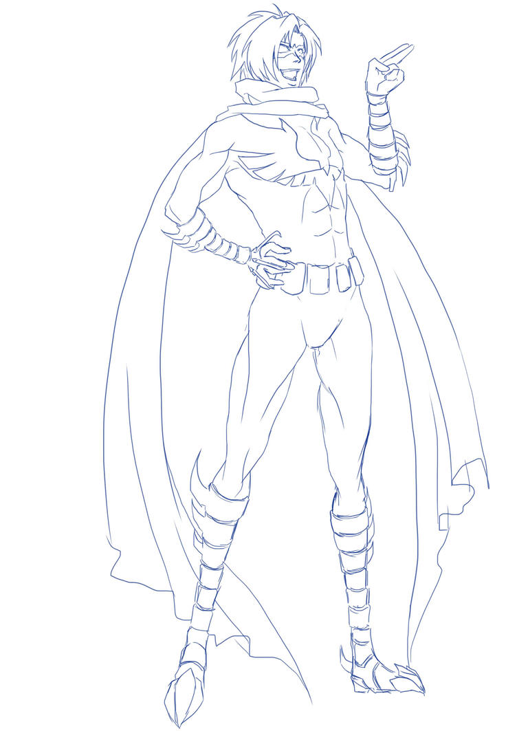 Nightwing Redesign By Namielric On Deviantart