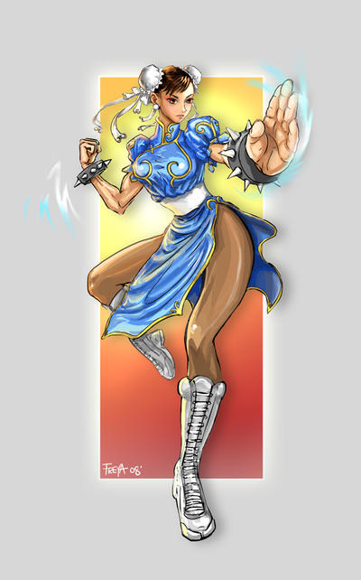 Chun Li Tribute by Vermin-Star